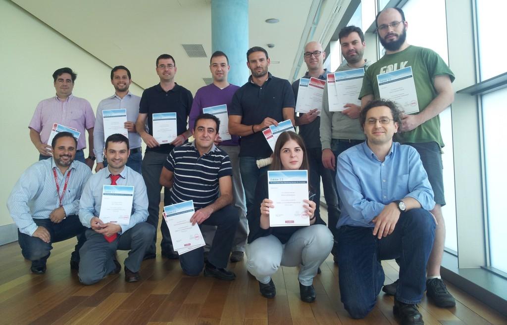Nuevos Certified Zabbix Professionals formados en Pontevedra