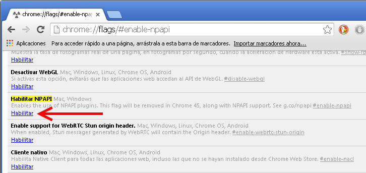 Como habilitar Java en Google Chrome