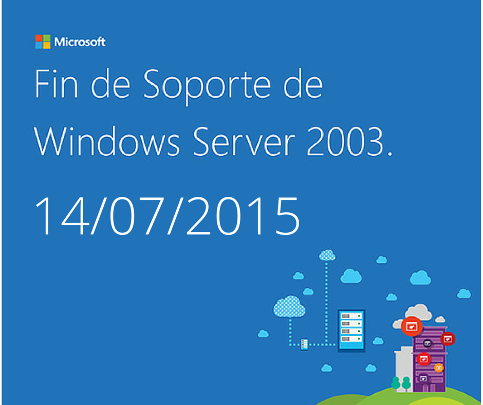 Fin de Soporte de Windows Server 2003.