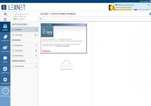 LexNET Abogacía y Java 8 update 71