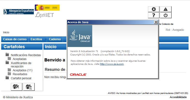 Nuevo Java, mismo LexNET