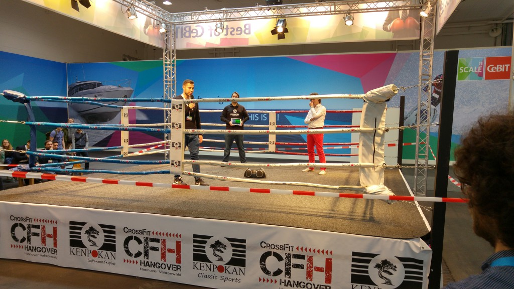 Founders Fight Club no CeBIT 2016