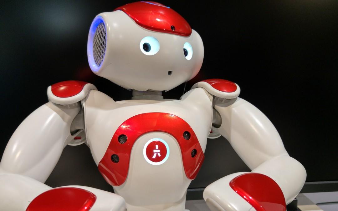 Nao o Robot de Aldebarán no CeBIT 2016