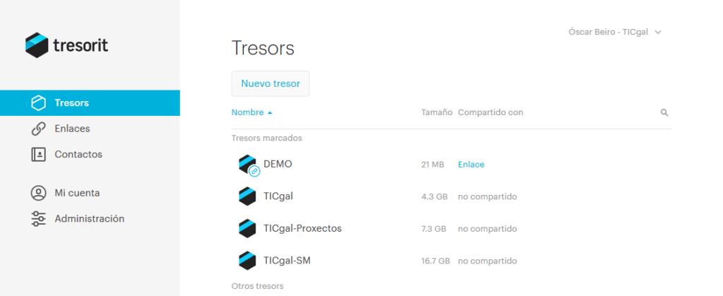 Accede a tus datos en la nube de manera segura con Tresorit.
