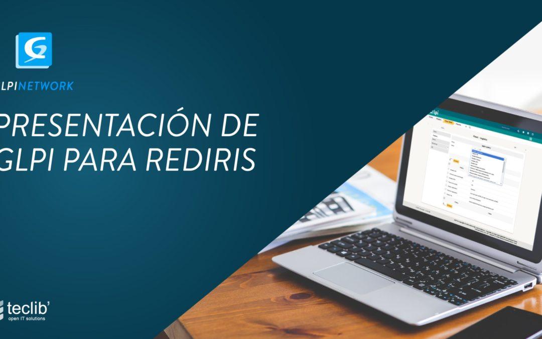 Presentacion GLPi Inventario Servicedesk Rediris