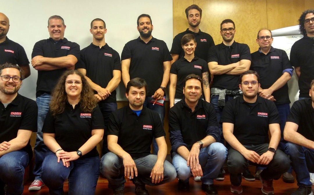 Nova promoción de Zabbix Certified Specialists & Professionals