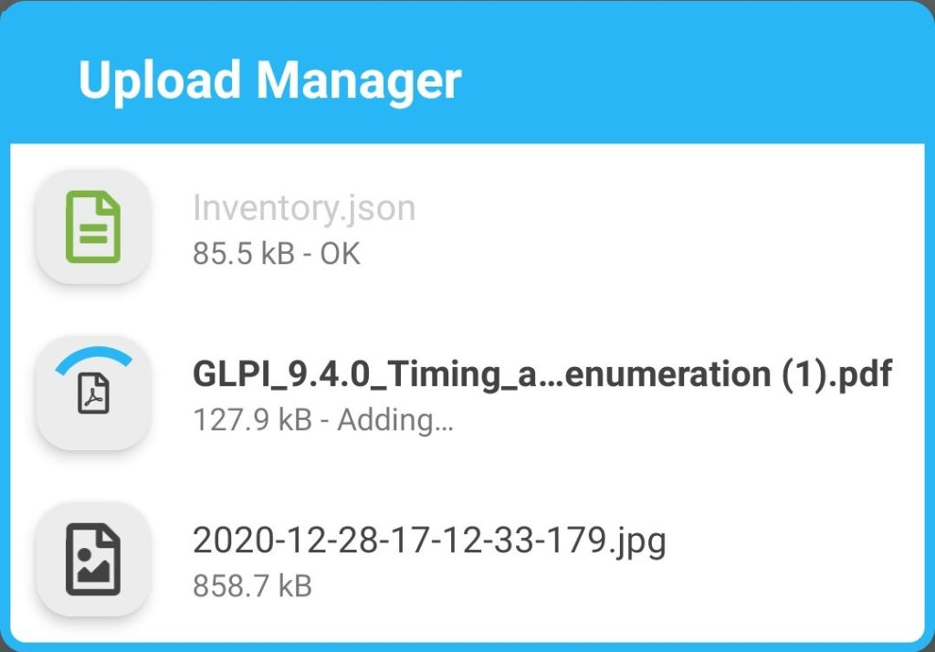 Gapp new upload manager